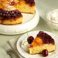 Fresh Cherry Upside-Down Cake: Main Image