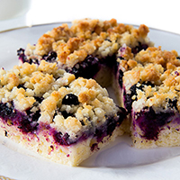 Blueberry Breakfast Crumble: Main Image