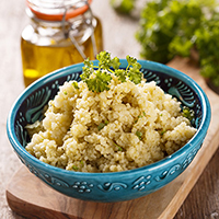 Chicken Pesto and Couscous Salad: Main Image