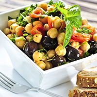 Chickpea and Cucumber Salad: Main Image