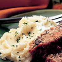 California Sage and Olive Meatloaf: Main Image