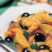 Caribbean Citrus Olive Shrimp: Main Image