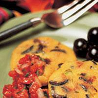Cheddar Olive Arapas: Main Image