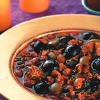Chipotle Olive Turkey Chili: Main Image