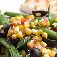 master.k.m.us.COB Corn and Green Bean Salad Food Prep Tips
