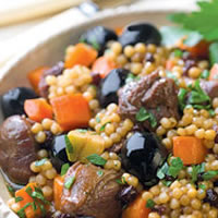 Couscous with Lamb and Olives: Main Image