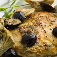 Dijon Saut�ed Chicken: Main Image