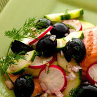 Dill Grilled Salmon: Main Image