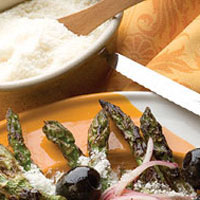 Grilled Asparagus Salad: Main Image