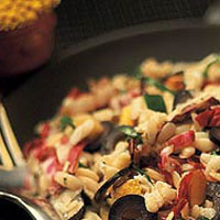 Grilled Orzo Salad: Main Image