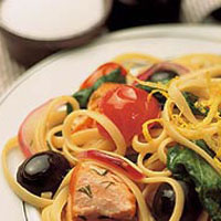 Lemon Salmon Linguini: Main Image