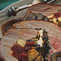Mediterranean Stuffed Pork Loin: Main Image