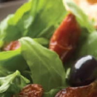 Oven Dried Tomato Salad: Main Image