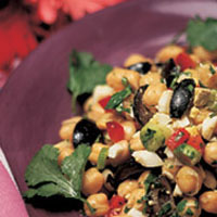 South American Garbonzo Salad: Main Image