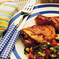 Southwestern Pan-Seared Corn: Main Image