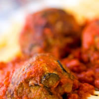 Spicy Olive Meatballs: Main Image