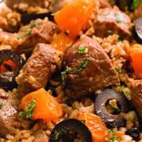 Sweet and Spicy Bulgur Lamb: Main Image