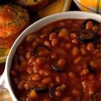 Tahitian Tango Barbequed Baked Beans: Main Image