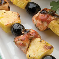 Tropical Chipotle Chicken Skewers: Main Image