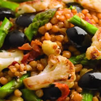 Warm Wheat Berry Pilaf: Main Image
