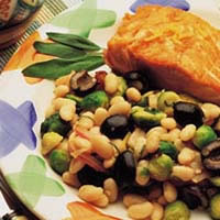 Warm White Bean Salad: Main Image