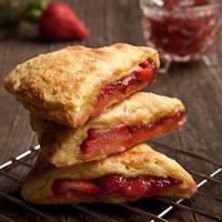 Fresh Strawberry Scones: Main Image