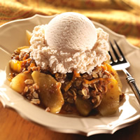 Cheddar Apple Crisp: Main Image