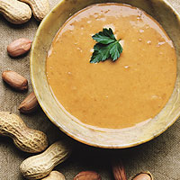 Spicy African Chicken Peanut Soup: Main Image