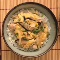 Asian Chicken and Egg Rice Bowl: Main Image