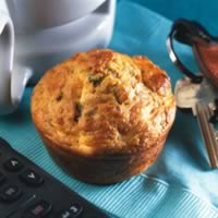 Bacon-Cheddar Breakfast Muffins: Main Image