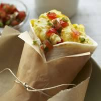Cereal Bowl Egg and Cheese Breakfast Burrito: Main Image