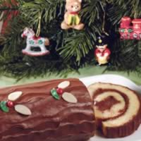 Chocolate Yule Log: Main Image