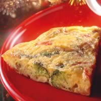 Crab and Asparagus Frittata: Main Image