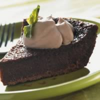 Easy Chocolate Custard Pie: Main Image