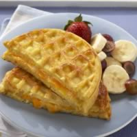 Egg &amp;amp; Cheese Waffle Sandwich: Main Image