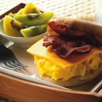 Egg and Muffin Sandwiches: Main Image