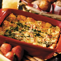 Florentine Brunch Casserole: Main Image