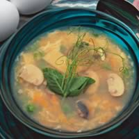 Hot and Sour Egg Drop Soup: Main Image