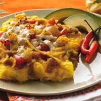 Tex-Mex Scrambled Eggs and Tortillas (Migas): Main Image