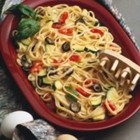 Saucy Linguine Scramble: Main Image