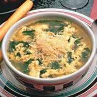Spinach Egg Drop Soup: Main Image