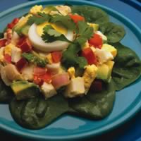Tomato & Avocado Egg Salad: Main Image