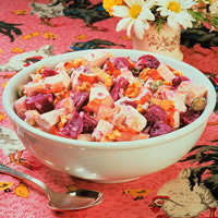 Beet and Potato Chicken Salad: Main Image