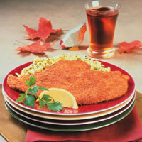 Chicken Schnitzel with Lemon: Main Image