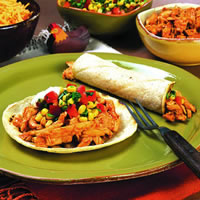 Chicken Tacos with Fresh Corn Salsa: Main Image