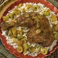 Chicken with Green Olives: Main Image