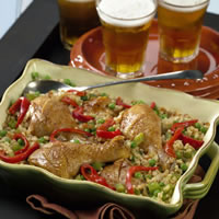 Cuban Chicken with Rice: Main Image