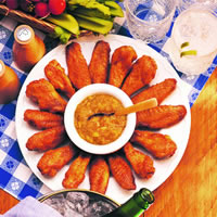Island Chicken Wings: Main Image