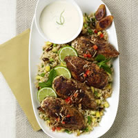 Mojito Chicken with Plantain Fried Rice: Main Image