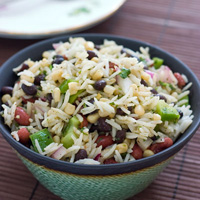 Beans and Rice Salad: Main Image